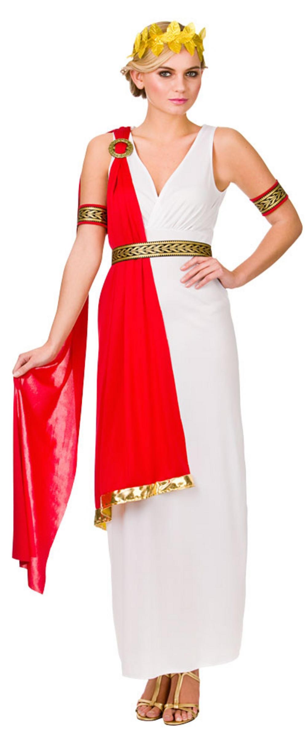 Ladies Glamorous Roman Lady Costume