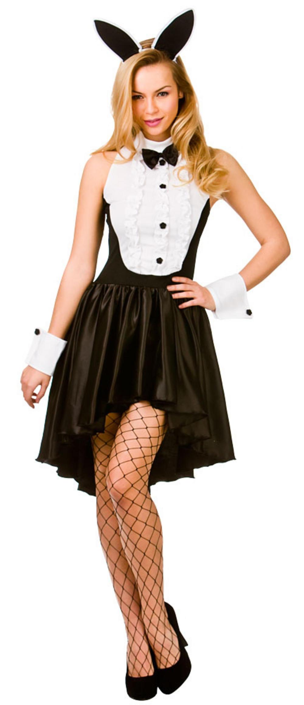 Ladies Bunny Hostess Costume