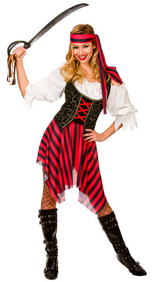 Ladies High Seas Pirate Costume