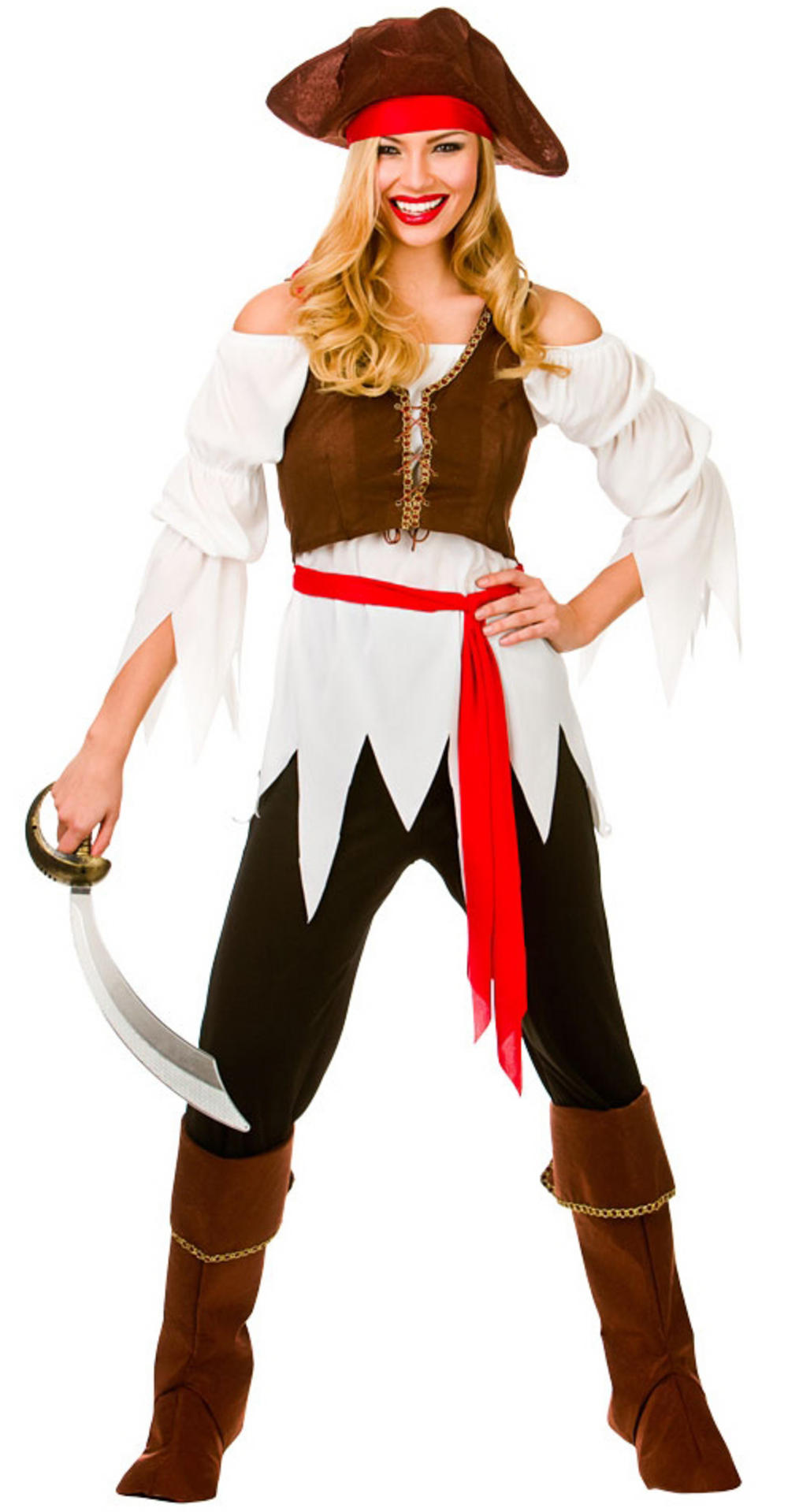Ladies Pirate Shipmate Costume