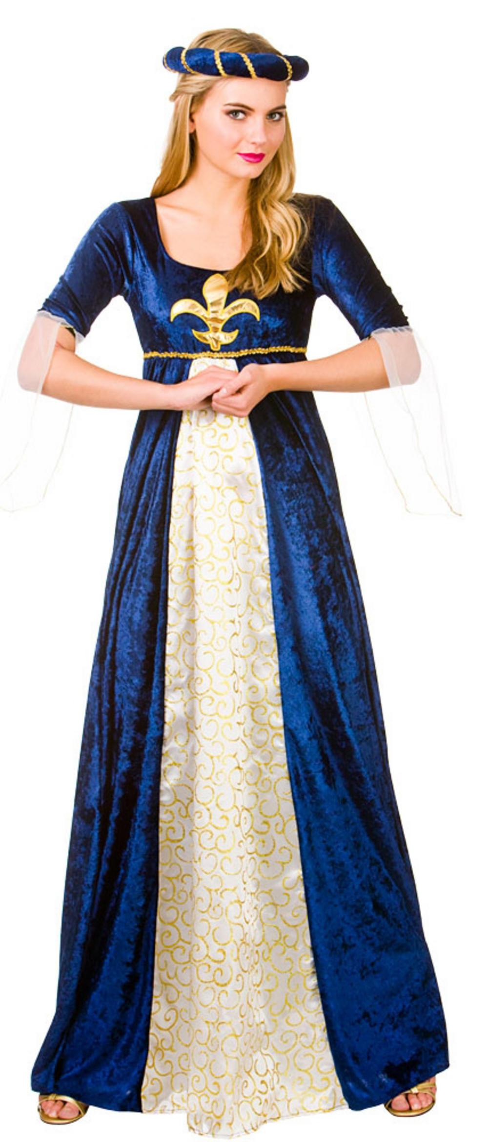 Ladies Medieval Maiden Costume