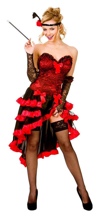 Ladies Wild West Showgirl Costume