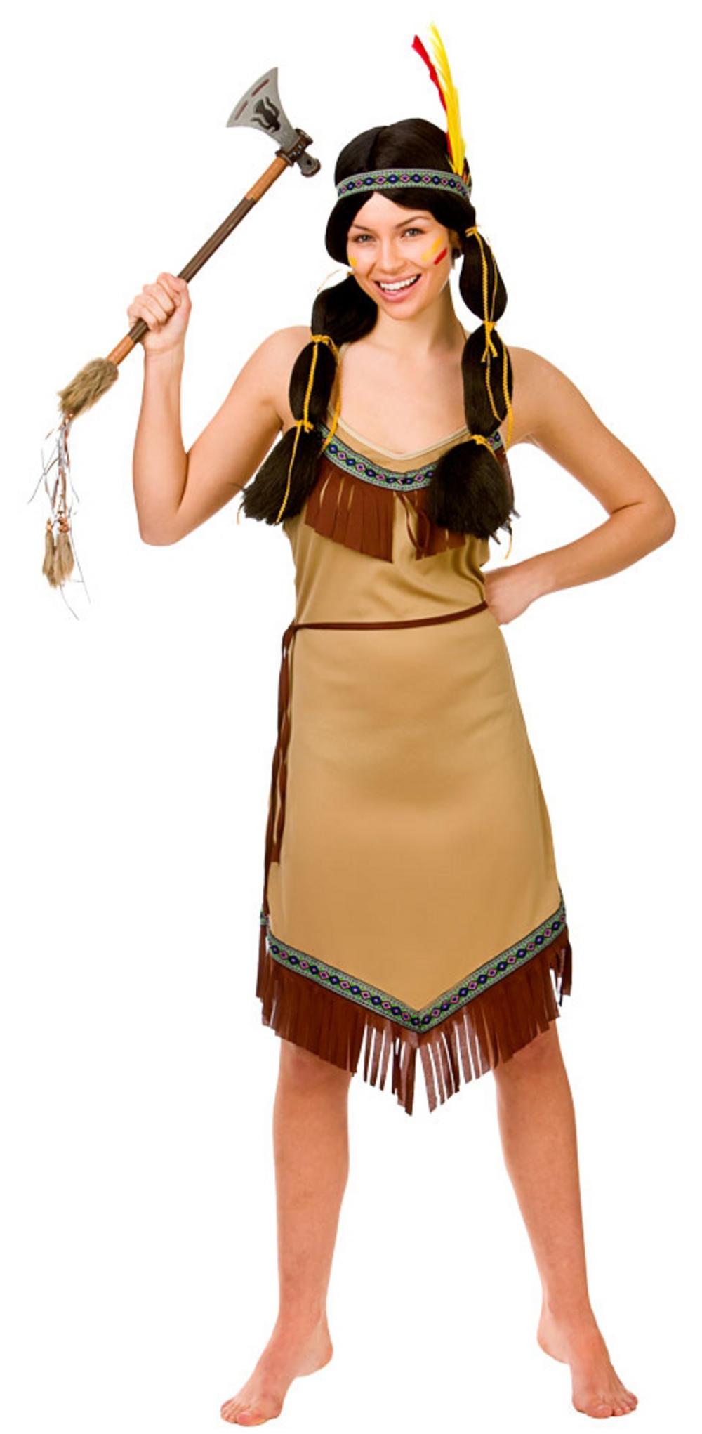 Ladies Native Indian Costume