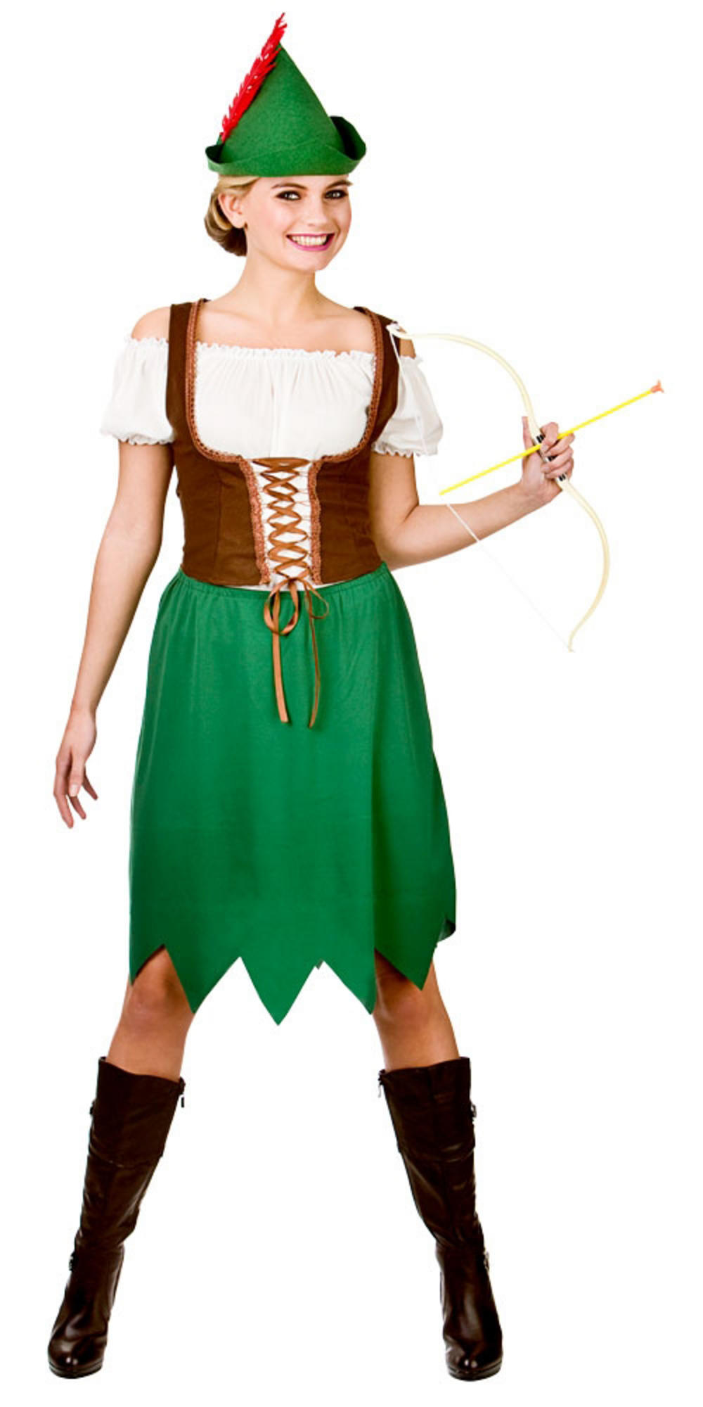 Robin Hood Woman Costume