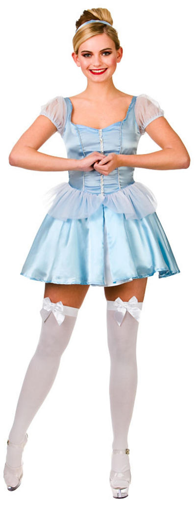 Ladies Cute Cinders Costume