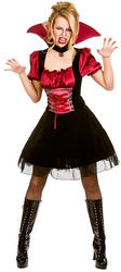 Ladies Bloodlust Vamp Costume