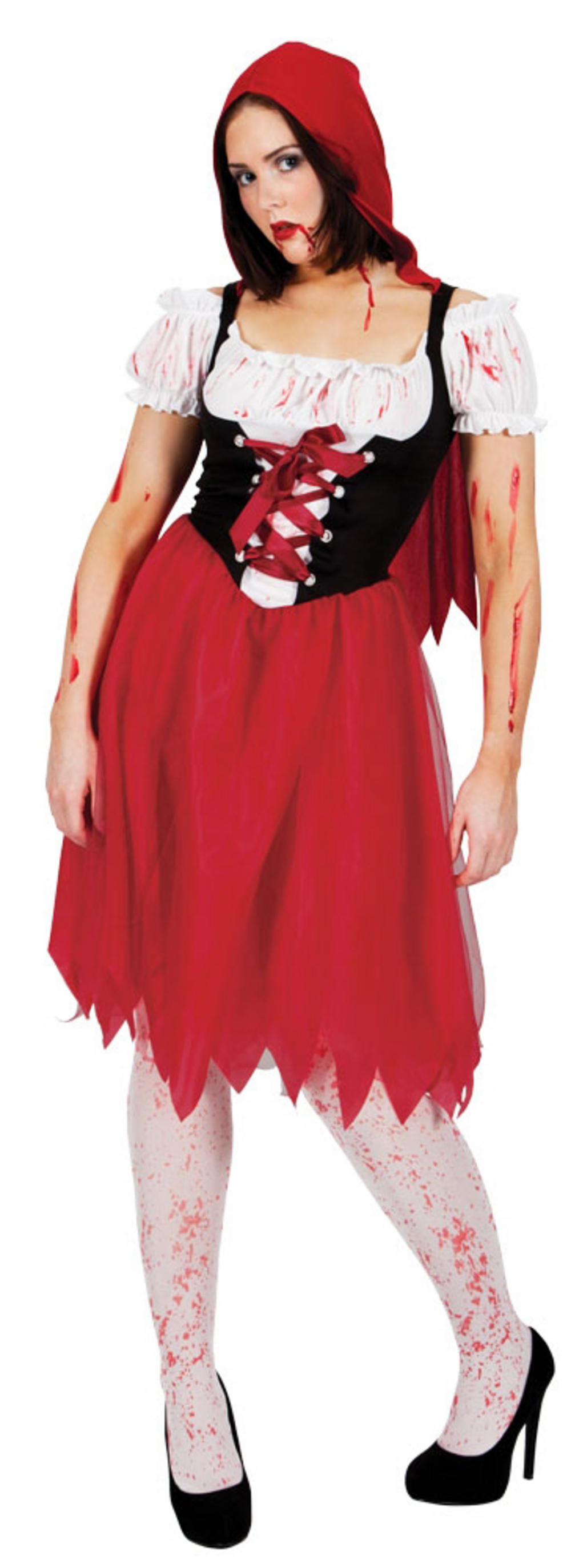 Ladies Blood Red Riding Hood Costume