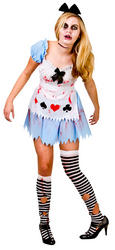 Ladies Alice In Zombieland Costume