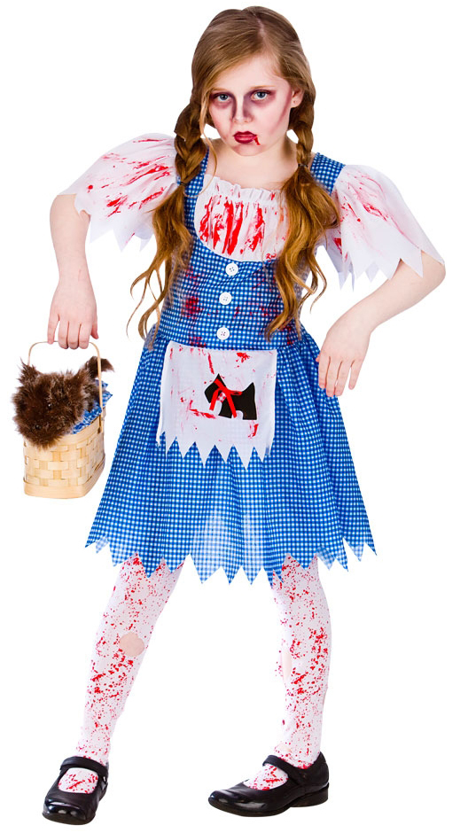 Sentinel Deadly Dorothy Girls Fancy Dress Halloween Childs Kids Zombie Costume Outfit New  sc 1 st  eBay & Deadly Dorothy Girls Fancy Dress Halloween Childs Kids Zombie ...