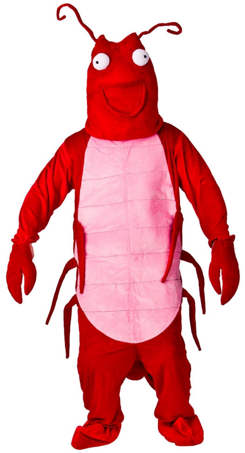 Larry The Lobster Mascot Costume