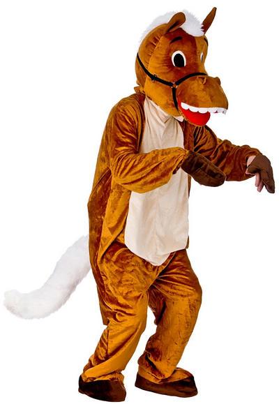 Happy Horse Mascot Costume
