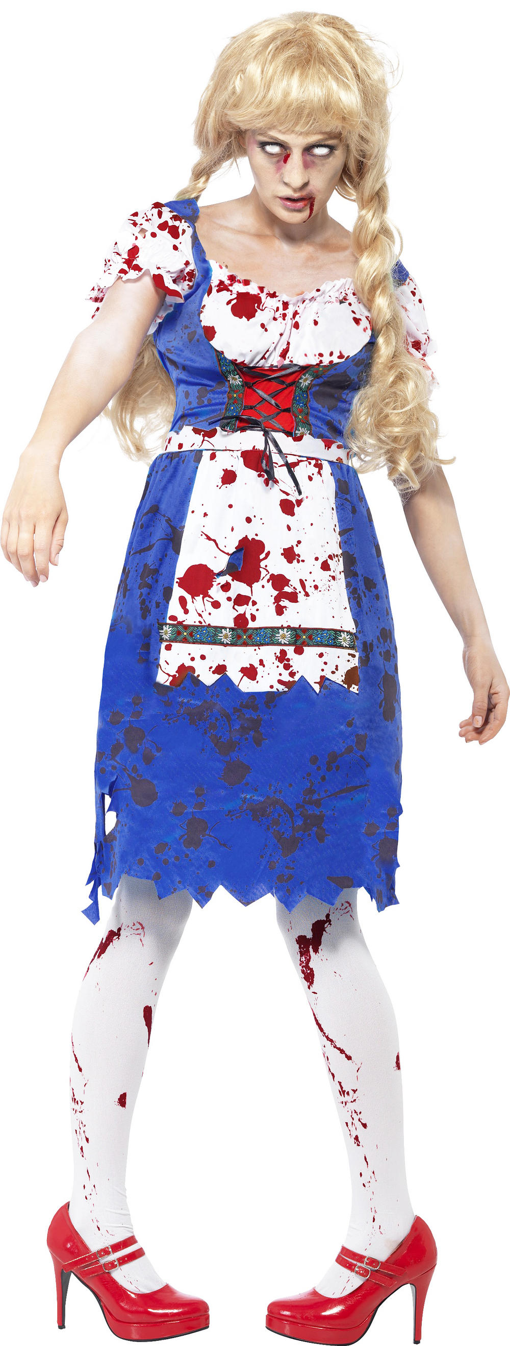 Zombie Bavarian Female Costume