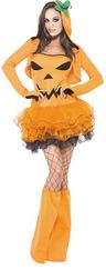 Fever Pumpkin Tutu Dress Costume
