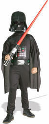 Kids Darth Vader Costume (With Lightsaber)