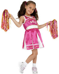 Cheerleader Womens Fancy Dress