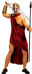 Mens 300 Spartan Fancy Dress Costume