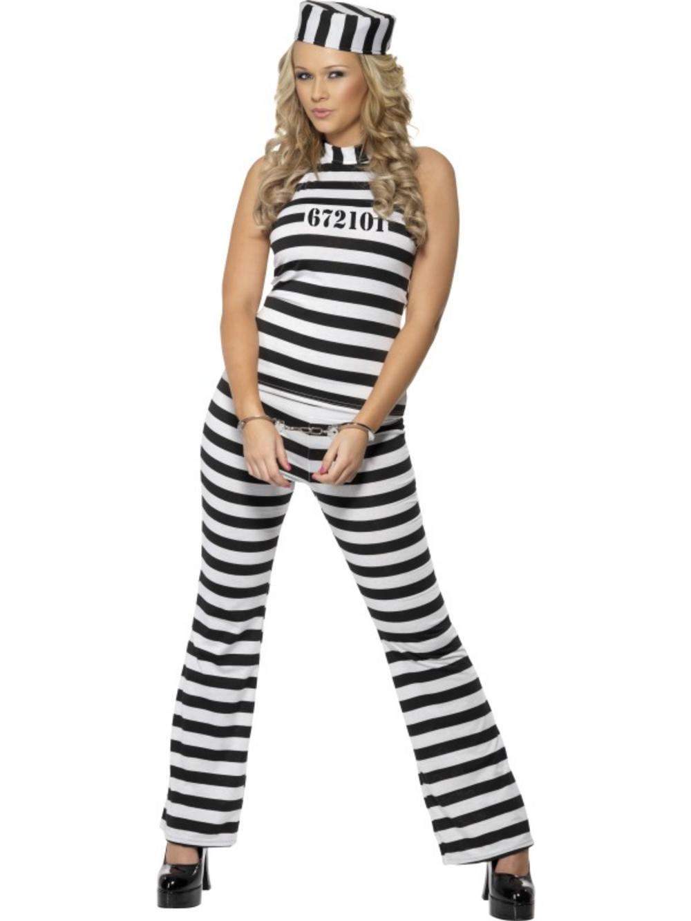 Ladies Convict Cutie Costume