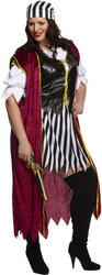Plus Size Pirate Woman Costume