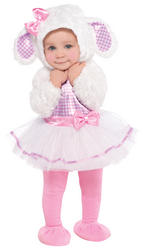 Toddlers Little Lamb Costume