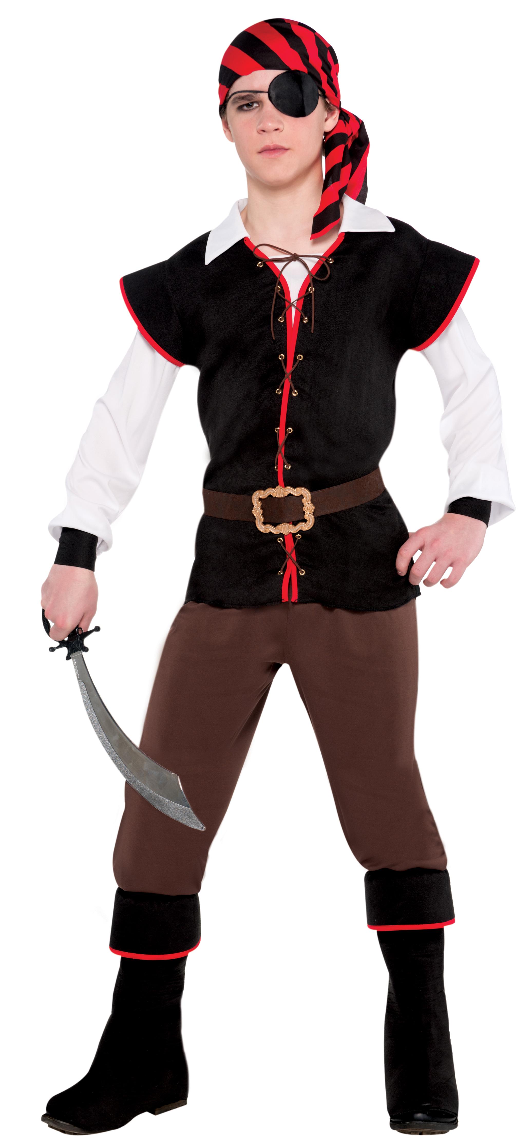 ab6362cd38b4 Boys Rebel of the Sea Costume