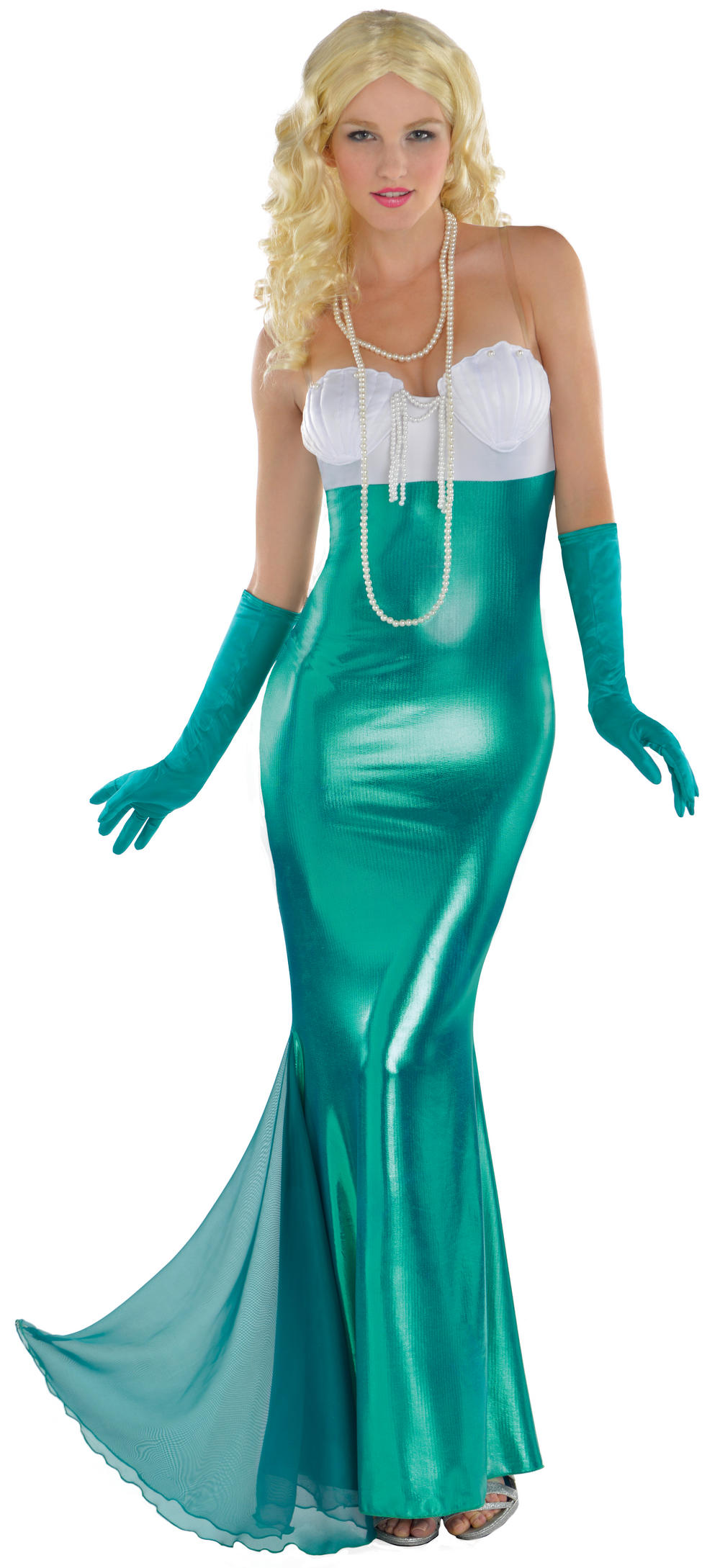Adults Sexy Mermaid Costume  sc 1 st  Mega Fancy Dress : latex mermaid costume  - Germanpascual.Com