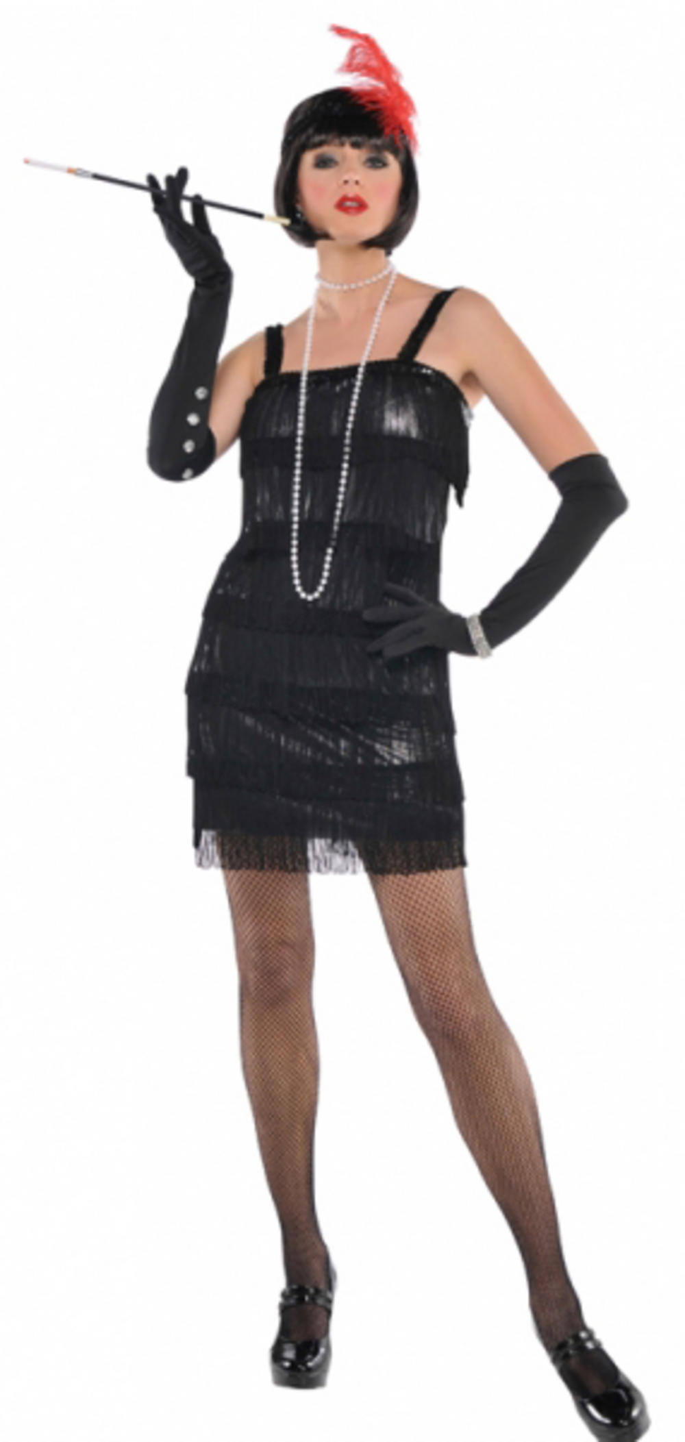 Adults Flashy Flapper Costume