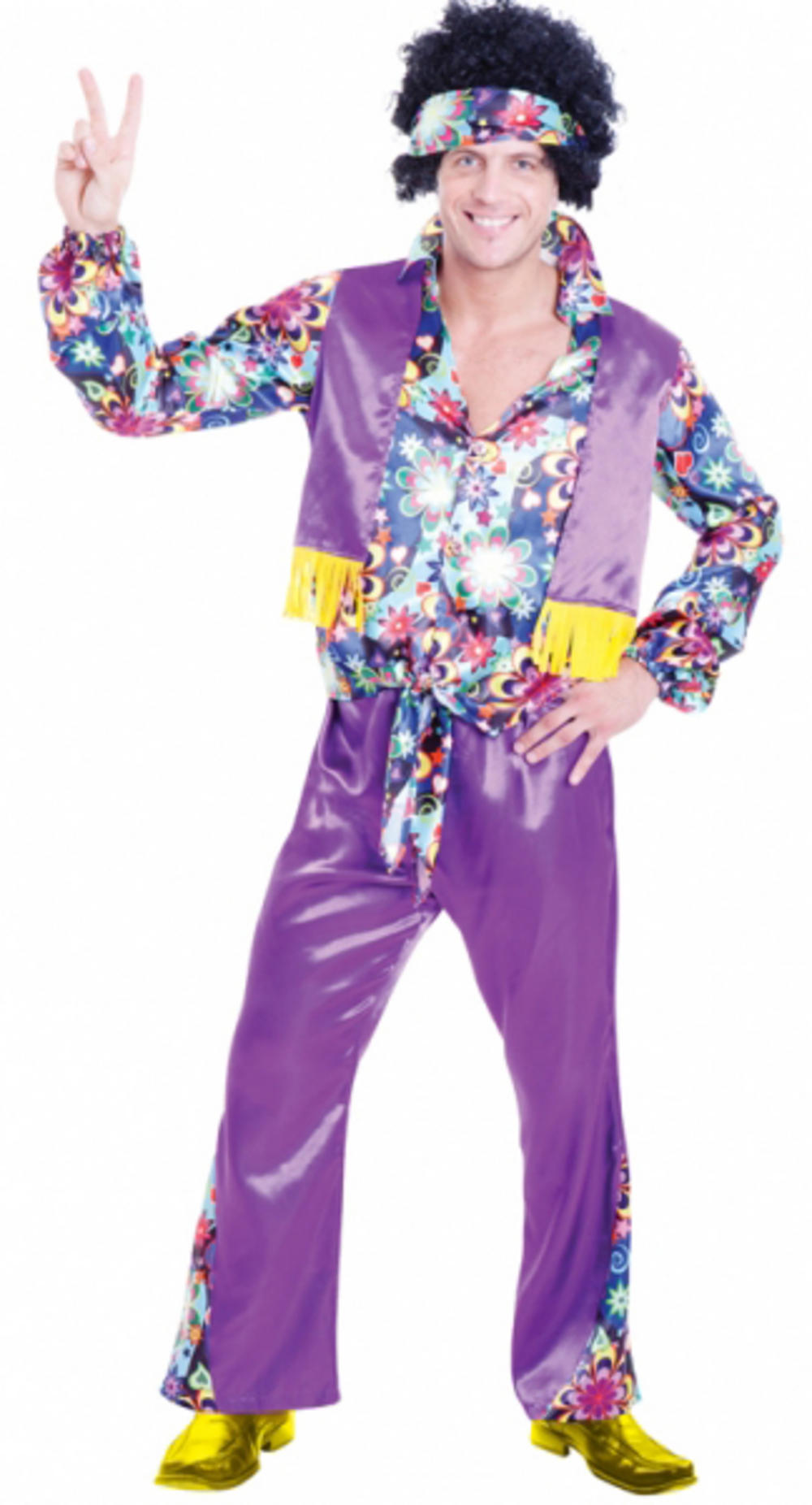 Adults 70s Groovy Guy Costume