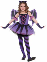 Girls Ballerina Bat Costume