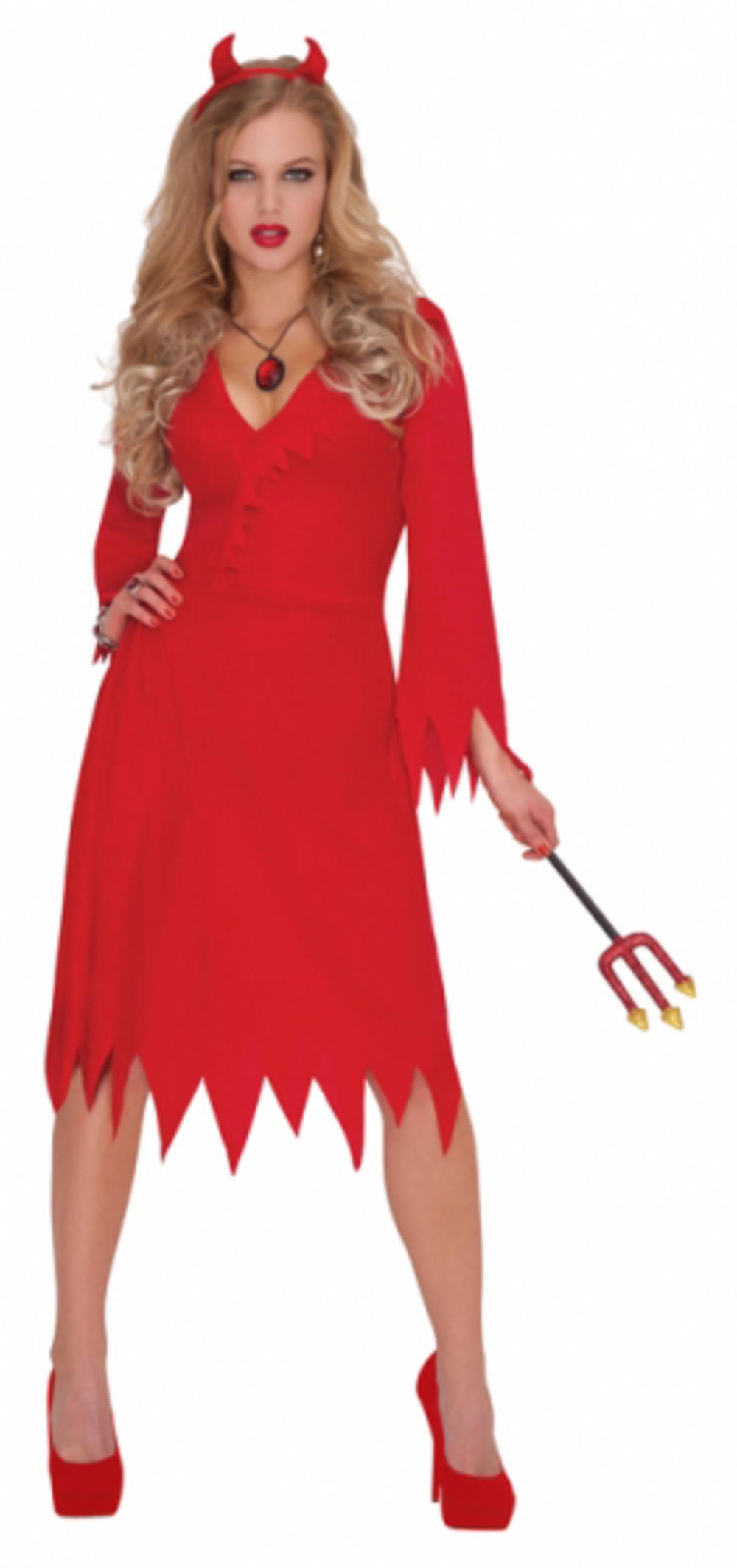 Adults Red Hot Devil Costume