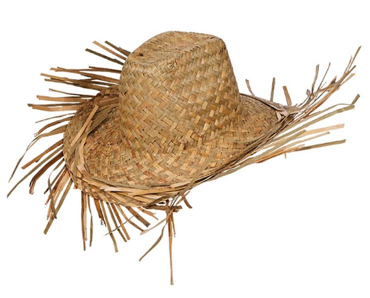 Beachcomber Straw Hat Hawaiian Accessories Mega Fancy