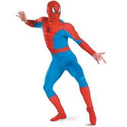 Mens Incredible Deluxe Spiderman Costume