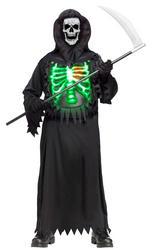 Boys Glow Chest Reaper Costume