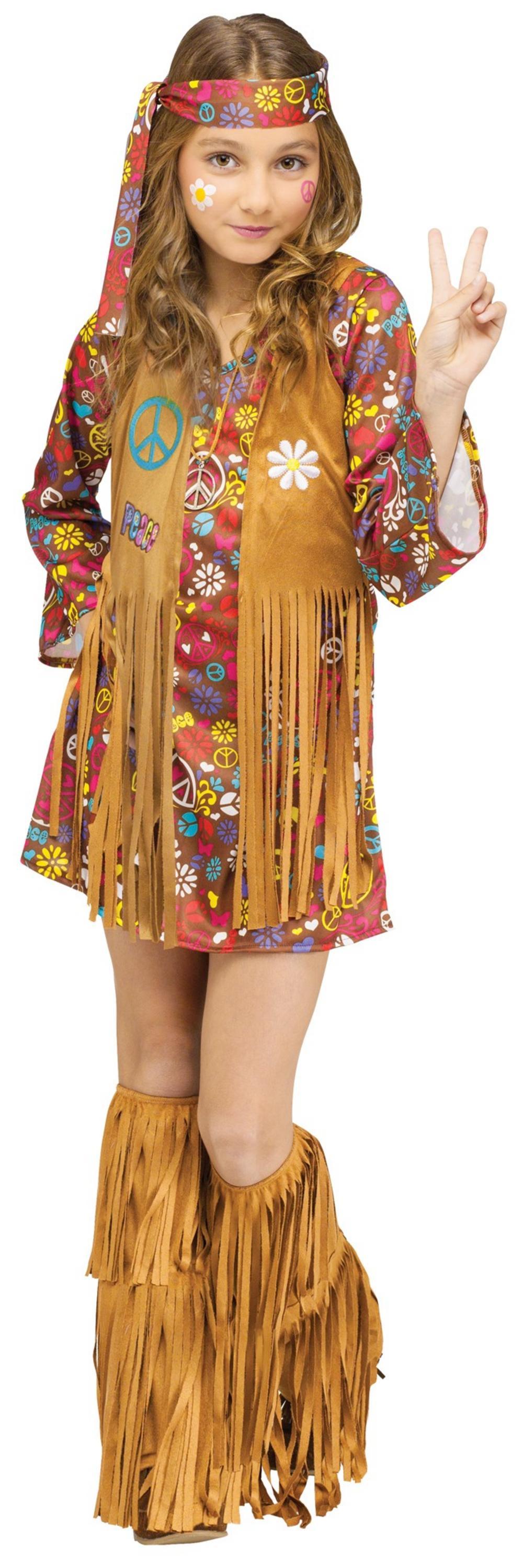 Peace & Love Hippie Costume