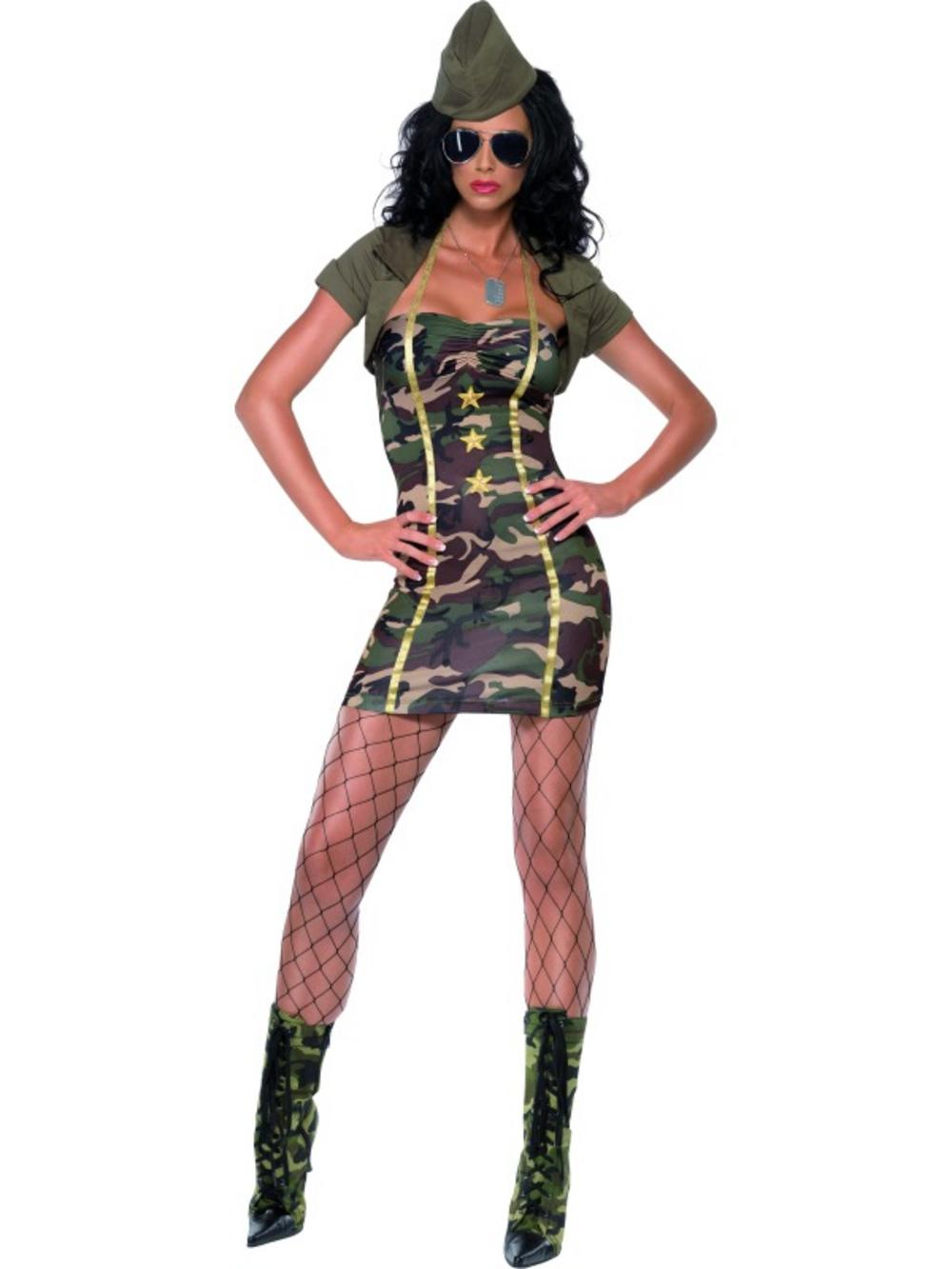 Major Trouble Military Costume