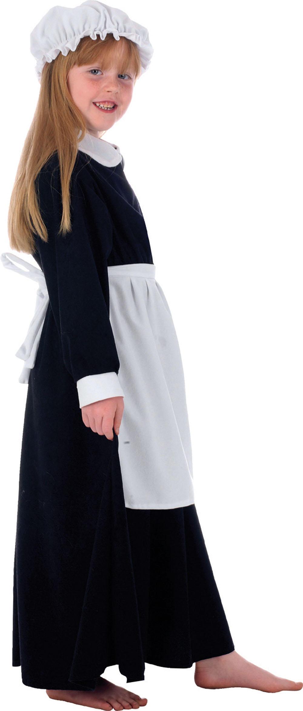 Girls Elsie The Parlour Maid Costume