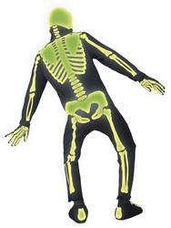 Glow in the Dark Skeleton Halloween Costume