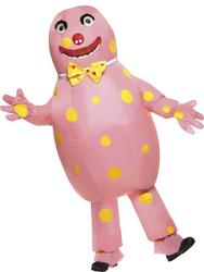 Inflatable Mr Blobby Costume