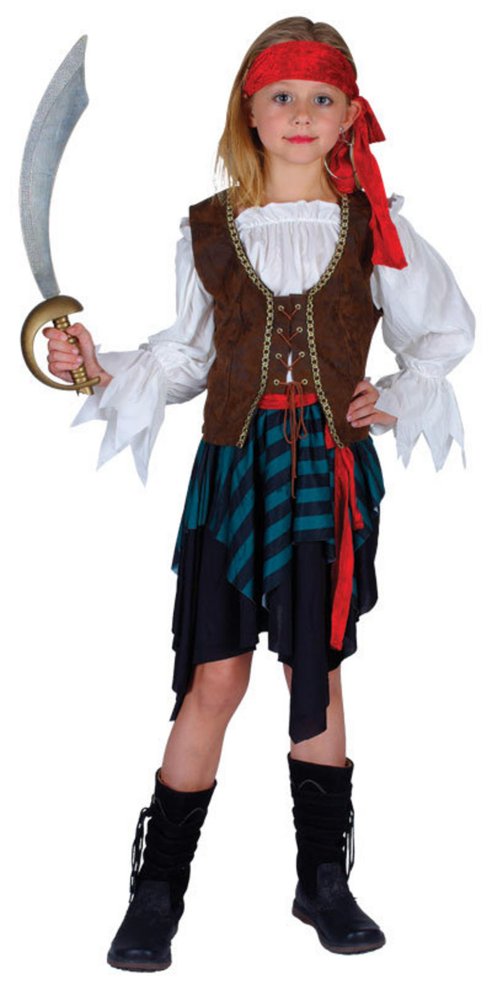 Girls' Caribbean Pirate Costume | Pirate Fancy Dress ... - photo#18