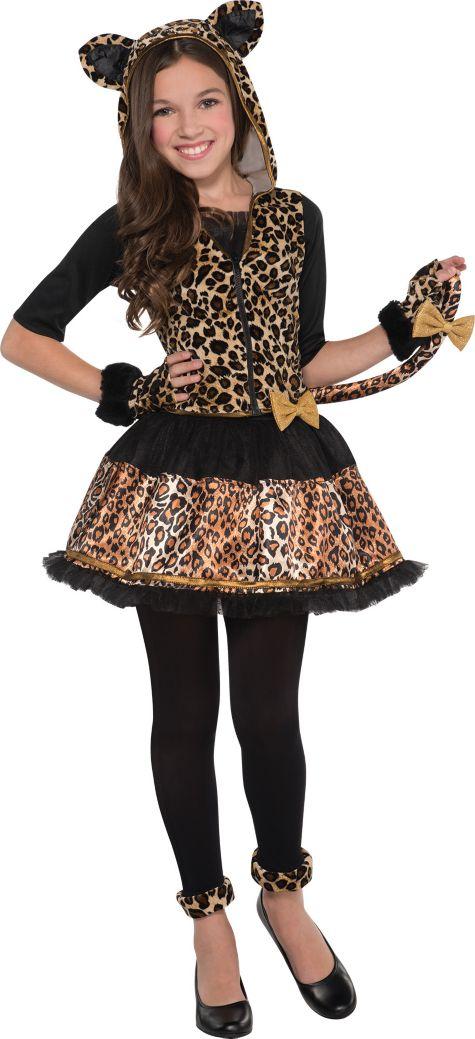 Girls Cute Animal Fancy Dress Halloween Storybook Kids Childrens ...