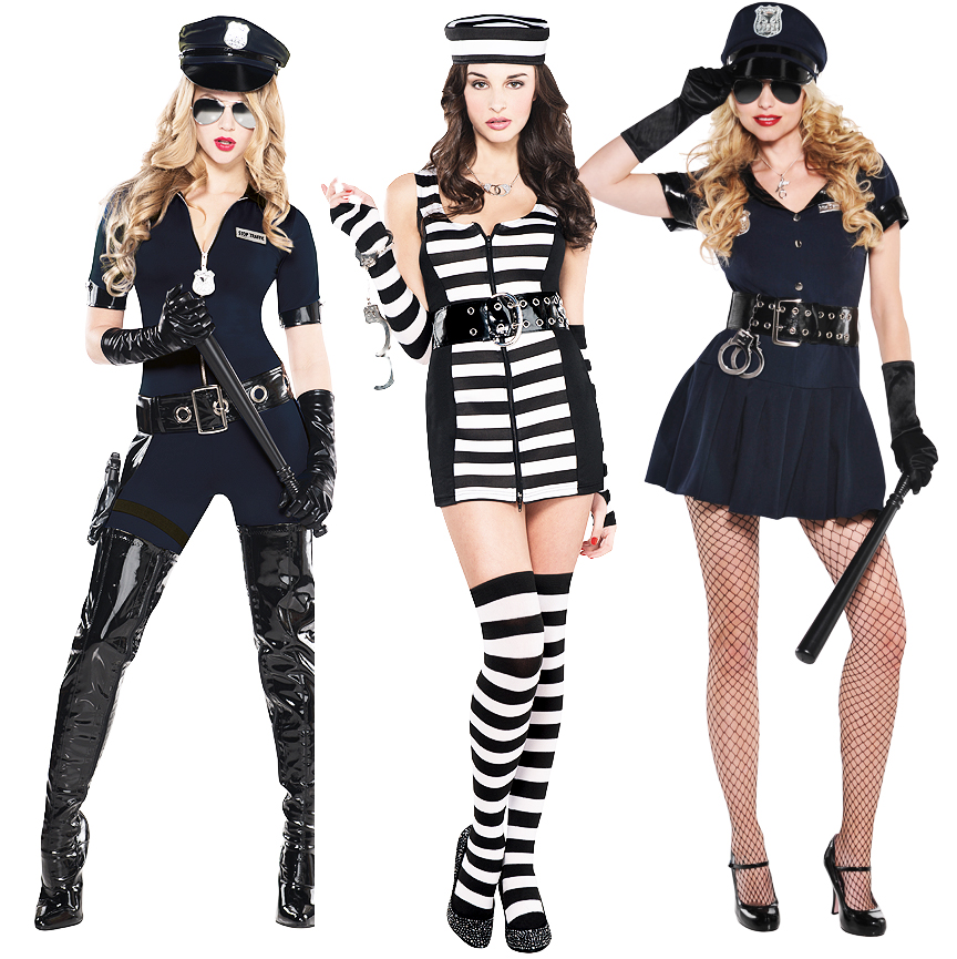 costumes robber Sexy and cop