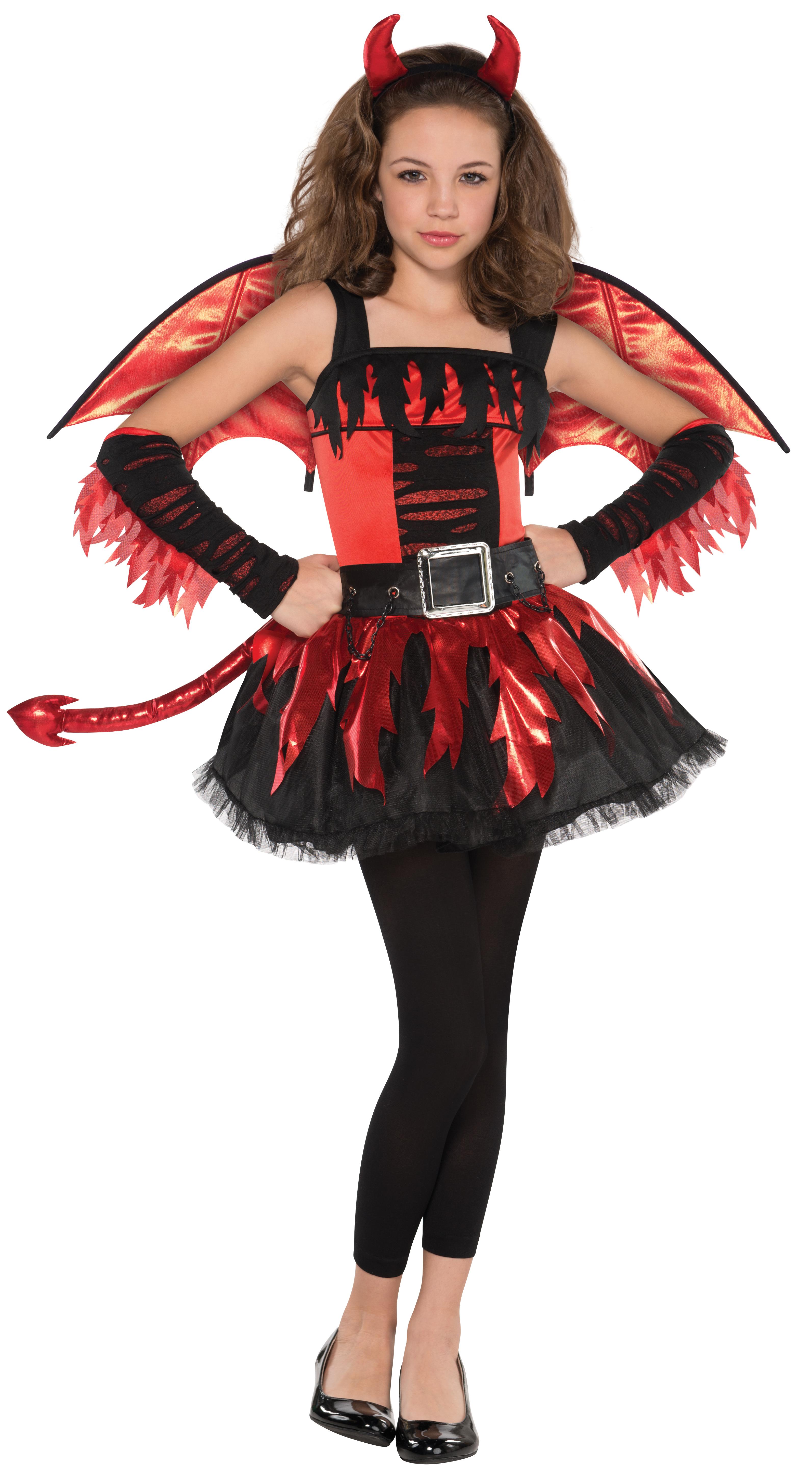 angel or devil wings age 12 16 fancy dress girls teen