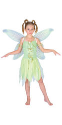 Girls Neverland Fairy Tinkerbell Costume