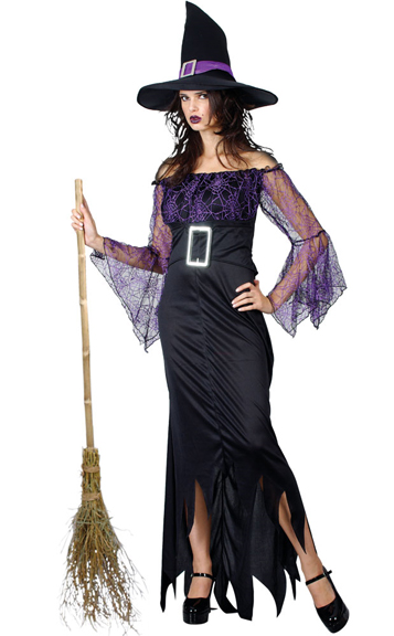mystical witch halloween costume all ladies costumes. Black Bedroom Furniture Sets. Home Design Ideas
