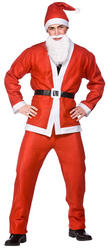 Santa Claus Value Christmas Costume