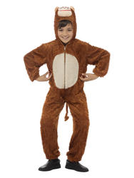 Childrens Monkey Fancy Dress Costume