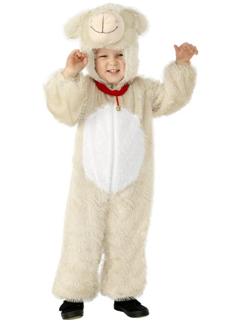 Childrens Lamb Fancy Dress Costume