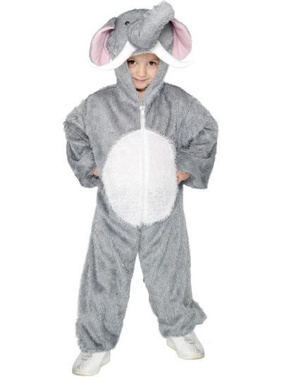 Childrens Elephant Fancy Dress Costume