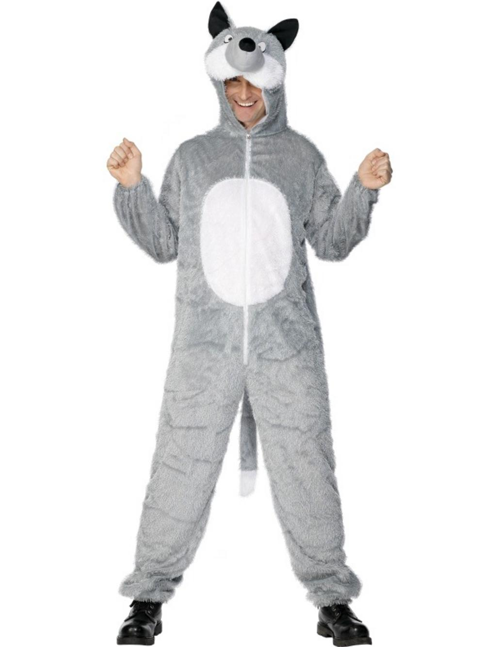 Adults Wolf Fancy Dress Costume