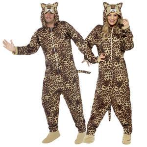 Adults Leopard Fancy Dress Costume