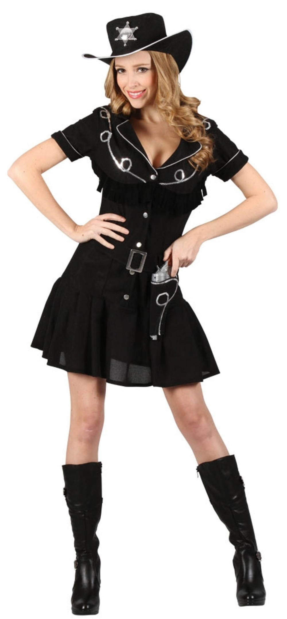 Ladies Gunslingin Cowgirl Costume